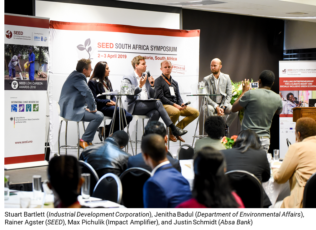 SEED South Africa Symposium 2019 - SEED - Promoting Entrepreneurship